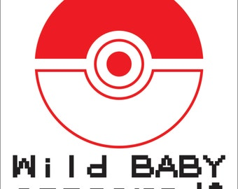 Customizable Pokemon Baby Onesie