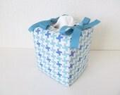 Tissue Box Cover/Blue Cross