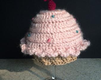 Cupcake Hat 6-12 months