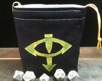 Eye of Horus Dice Bag