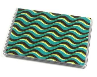 Card Case Mini Wallet Waves