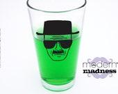 Heisenberg Breaking Bad inspired - Pint Glass