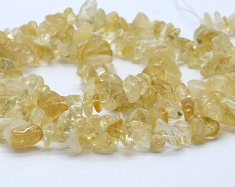 Nugget Chip Natural Citrine Crystal Quartz Gemstone Beads ,gemstone beads loose strand