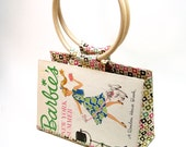 Barbie Book Purse, Book Clutch, Barbie's New York Summer Recycled Book Handbag