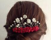 Bridal Hair Comb,wedding custom design, Bridal hairpiece, Wedding hair accessories, Bridal Headpieces, Rhinestone hair comb bridal
