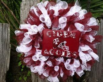 Texas A&M  Wreath
