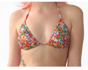 Sprinkles Bikini Top