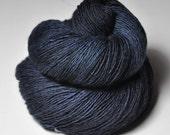 Dark Shadowstorm - Merino/BabyCamel Fingering Yarn