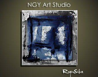 """NGY  29.5"""" x 29.5"""" Modern Contemporary Abstract Metal Wall Sculpture Art"""