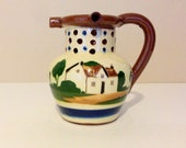 Vintage Torquay Motto Ware Pitcher