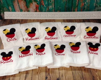 Minnie Mouse Cruise Towel, Minnie Mouse Towel, Disney Cruise, Birthday