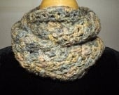 100% Hand Dyed Alpaca Cowl / Infinity Scarf