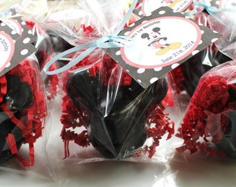 10 Mickey Mouse Party Favor Soaps