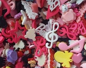 1 lb Grab Bag Resin Flat back Charms For Cellphone Decorating & More!