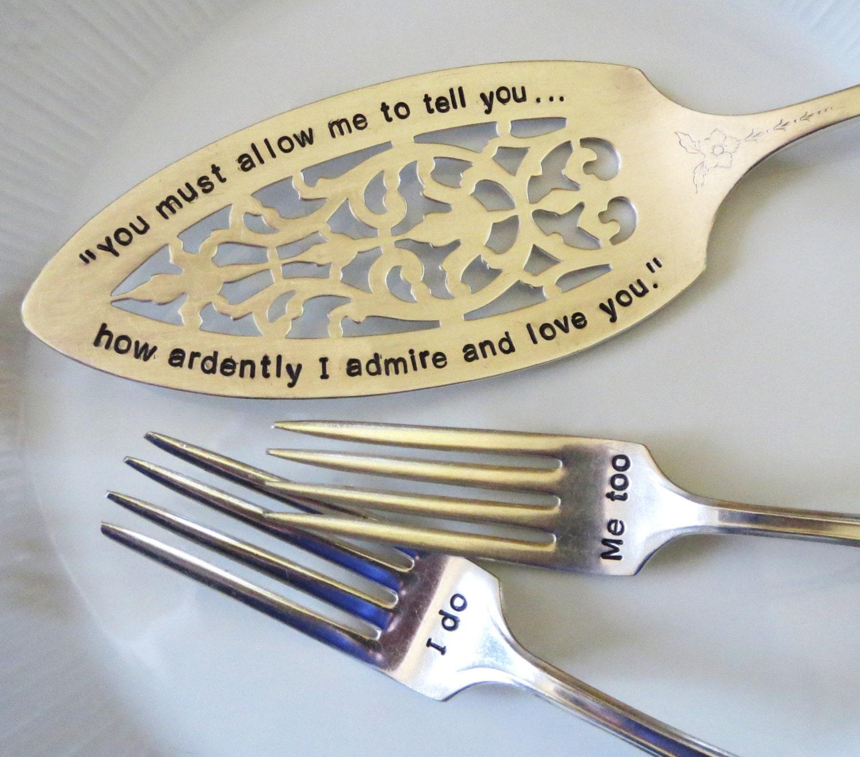 Vintage Wedding Romantic Wedding Jane Austen Quote Fairy  Vintage Wedding Quotes