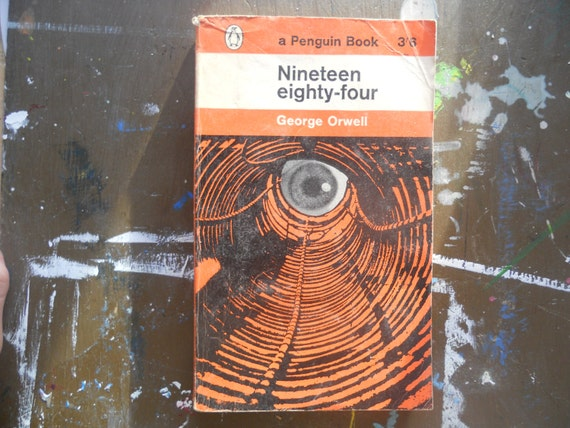 Nineteen eighty-four - George Orwell, Penguin book No. 972