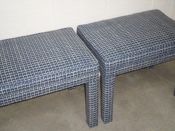 Parson's Stools / Benches - Set of 2 - Design Your OWN