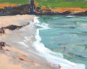 La Jolla Beach Landscape Painting