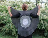 CROCHET PATTERN: Crocodile Stitch Circular Vest - Permission to Sell Finished Product