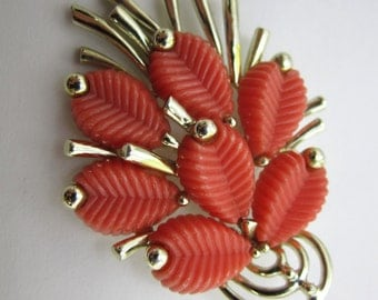 Vintage Marboux Brooch Women's Brooch Lapel Pin Women Teens Costume Jewelry Brooch Mad Men 60's