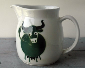 Arabia Cow Pitcher