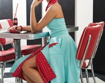 Edith overal and skirt By TiCCi Rockabilly Clothing