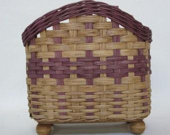 Napkin Basket / Table Top Basket / Handwoven Basket