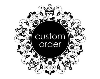 """Custom listing to add a 12""""x18"""" insert to an already placed order"""