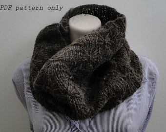 Butterfly Cowl - PDF Knitting Pattern