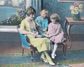 The Story Hour Hand Tinted Photo Print