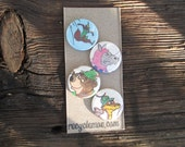 Disney's Robin Hood magnets.  Set of 4