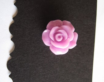 Lavender Flower Pin