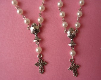 Mini Rosaries (Package of 20)- WITH CHALICE