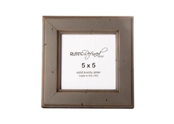 5x5 Moab picture frame - Gray Green