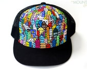 Big City 2 - Hand painted trucker hat