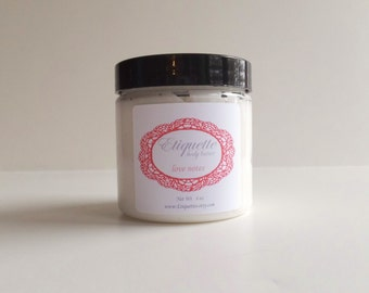 Love Notes body butter 4 oz jar Paraben Free