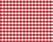 1 Yard of  Medium Gingham Red by Riley Blake