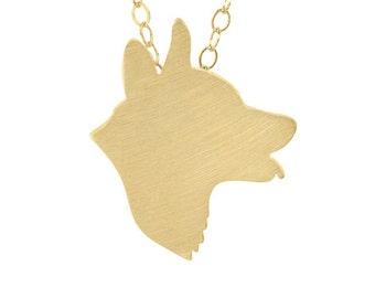 Corgi 40% OFF Discontinued Metal: Gold-Plated Silver, Corgi charm necklace, Corgi jewelry, pet memorial, dog jewelry, gift