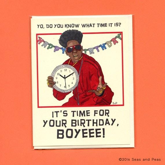 BIRTHDAY FLAV STYLE Funny Birthday Card Flavor Flav