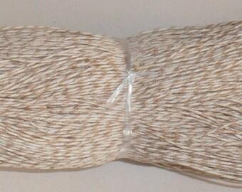 Jute Beige Cotton Yarn