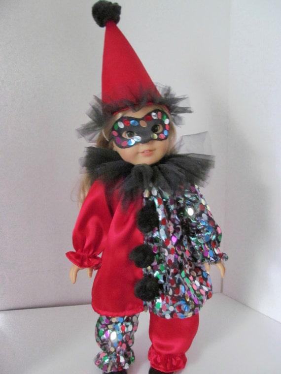 Amtoy Clown Doll Plush American Greetings Teach Me Learn ...