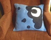 Blue Moon Fleece Cutie Mark Pillow