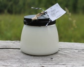 Soy Candle Jar with Black Metal Lid-12oz-Winter Scent Selection-Vermont Cottage Candles