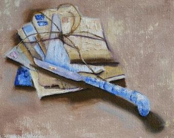 Precious Remains - Original Oil Painting