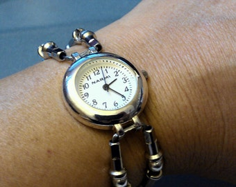 Bicycle Brake Cable and Spoke Beaded Watch - WATCH01