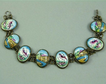 Vintage Middle Eastern Persian Bracelet (No. 1157)