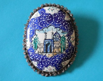 Enameled Persian Pin (No. 1231)