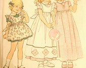 SIMPLICITY 6686 Child Dress Pattern Sz 3