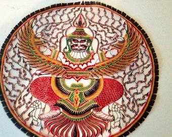 SALE: Vietnam Art Piece/vintage home decor