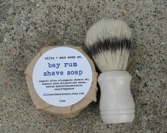 BAY RUM Shaving Soap For Men VEGAN gifts for men